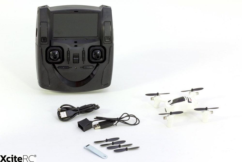 hubsan x4 fpv plus quadrocopter rtf drohne mit hd kamera modellhelikoptershop. Black Bedroom Furniture Sets. Home Design Ideas